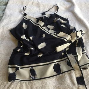 Banana Republic Blouse with Tie front
